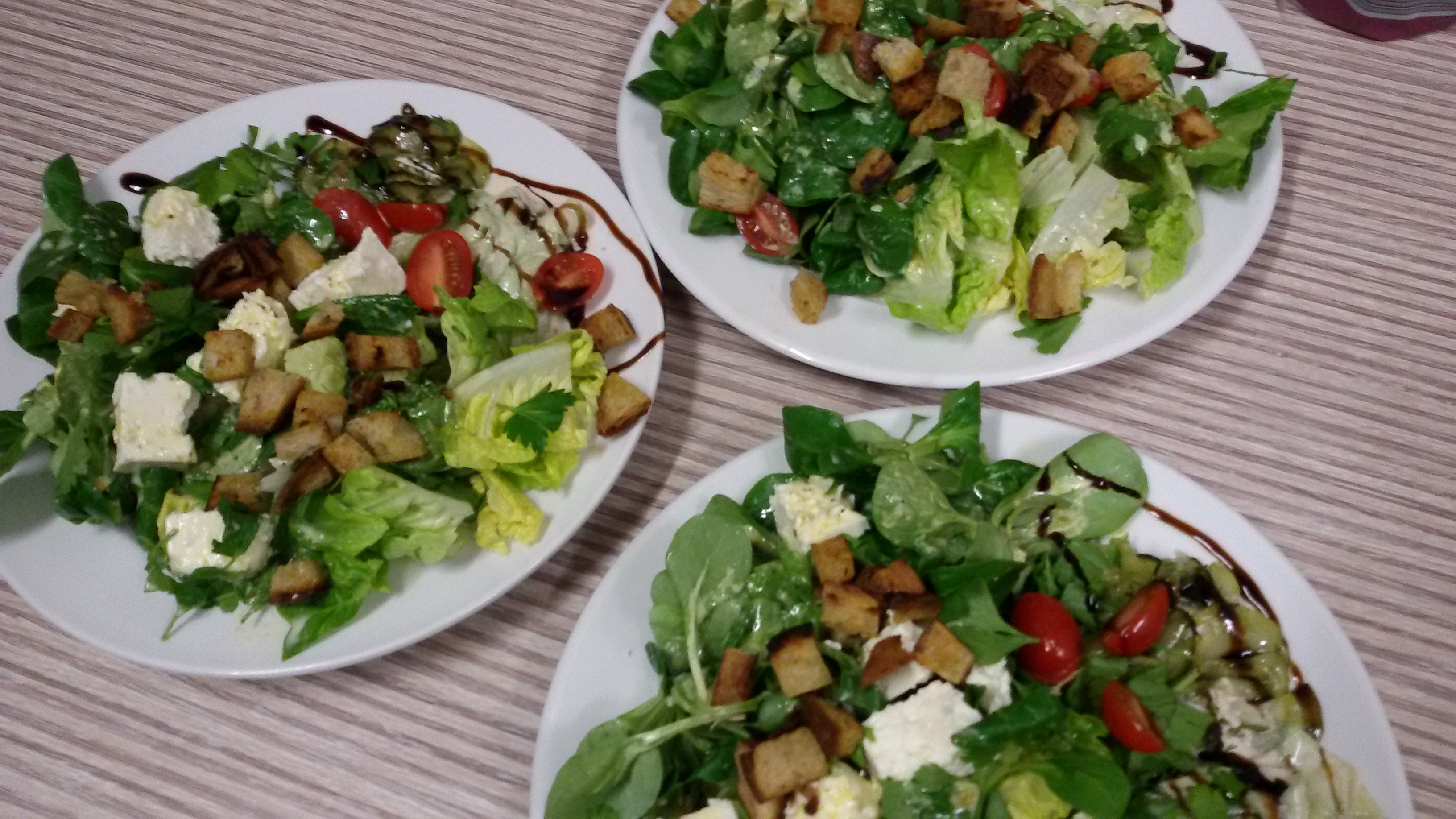 Vegetarischer Salatteller