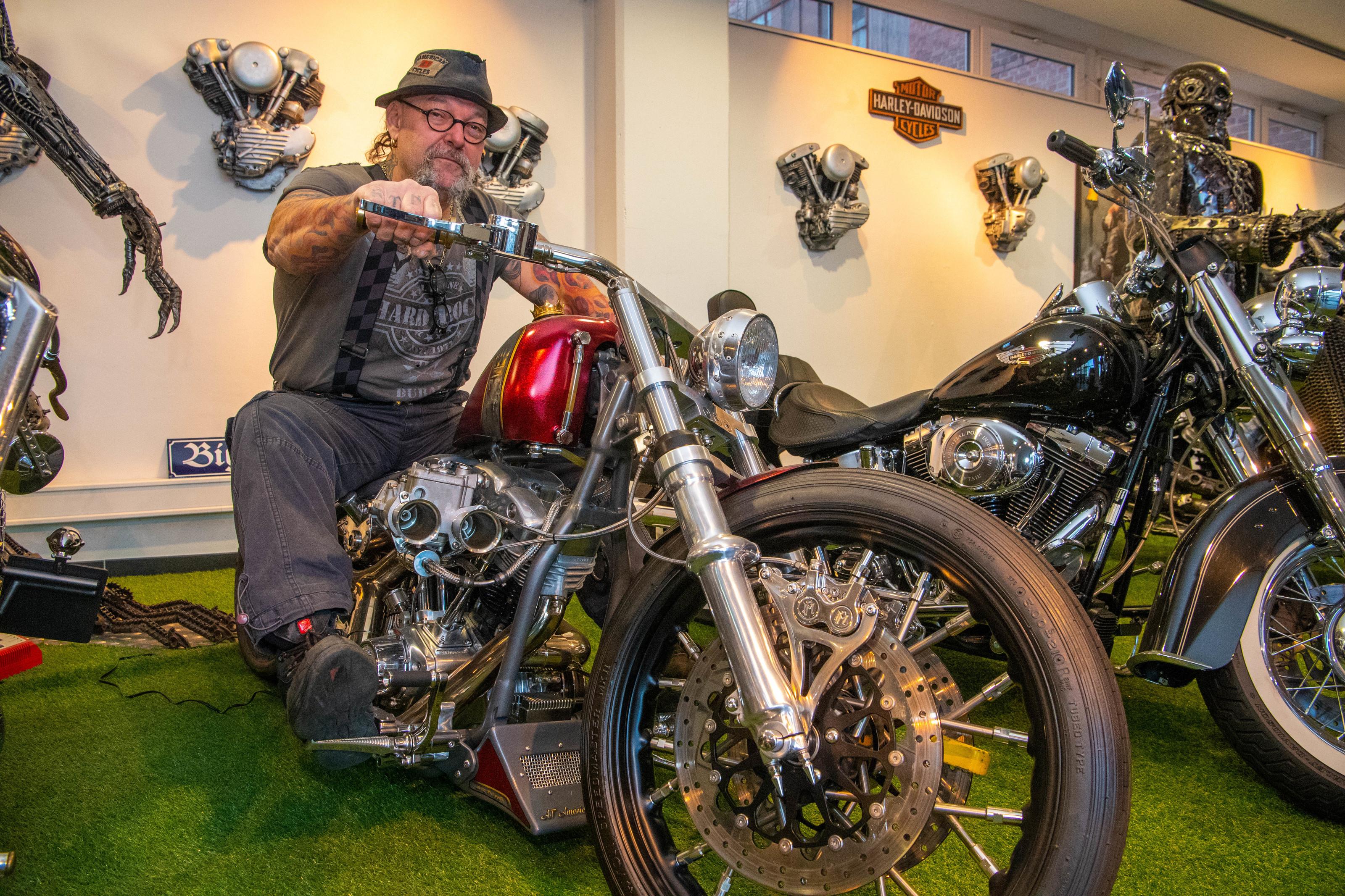 Aykut - Meister der Costum Bikes